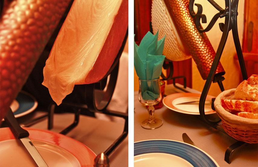 Raclette, spécialités savoyarde, Restaurant L'escale Valloire